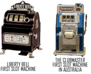 image of online slots history