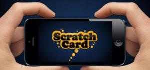 Mobile scratch card