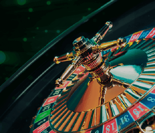 image of online roulette wheel