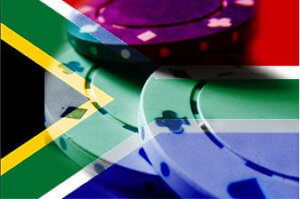 SA flag and betting chips - best rand casinos