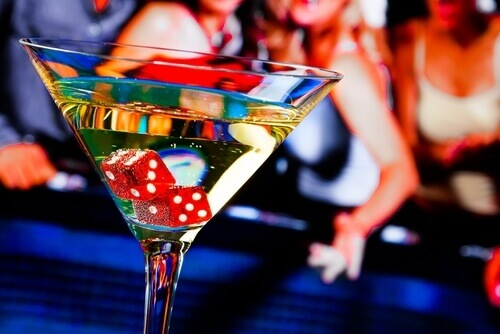 Dice in martini - land-based casinos
