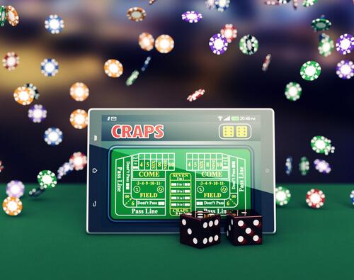 image of Online Craps game