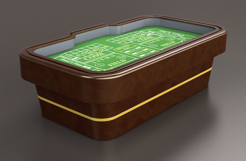 image of Online Craps table
