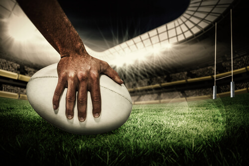 image of rugby betting - rugby ball