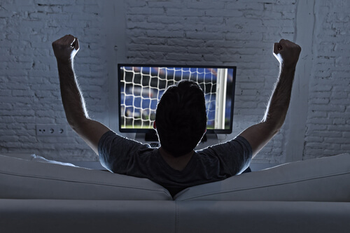 image of sports betting player